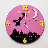 """Детские настенные часы """"Ночь"""""""
