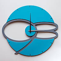 Настенные часы MaxiTime Blue