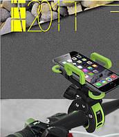 Держатель для GoPro на руль велосипеда, с диаметром трубы до 4,5 см. Зеленый