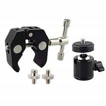 Металлическое крепление на руль или трубу для GoPro с диаметром трубы до  5,5 см. , фото 3