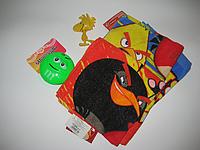 Полотенце детское ,х/б Дисней 35*65 Красный