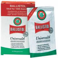 Салфетки Klever Ballistol для ухода за оружием 10 шт/уп (21950)
