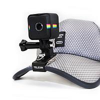 Металлическое крепление на кепку,рюкзак Telesin для GoPro GoPro.Xiaomi, SJcam, фото 1