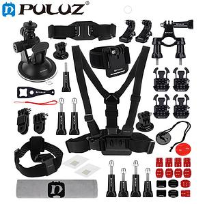 Комплект аксессуаров Puluz 45в1 для GoPro