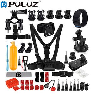 Комплект аксессуаров Puluz 52в1 для GoPro