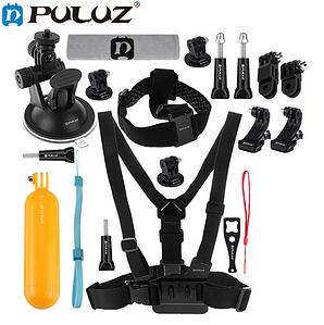 Комплект аксессуаров Puluz 16в1 для GoPro