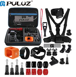 Комплект аксессуаров Puluz 28в1 для GoPro