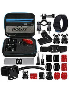Комплект аксессуаров Puluz 24в1 для GoPro
