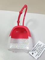 Чехол для санитайзера с Блестками Bath and Body Works Антибактериальный Спрей Крем