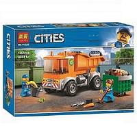 """Конструктор Bela 11220 (Аналог Lego City 60220) """"Мусоровоз""""102 детали, фото 1"""