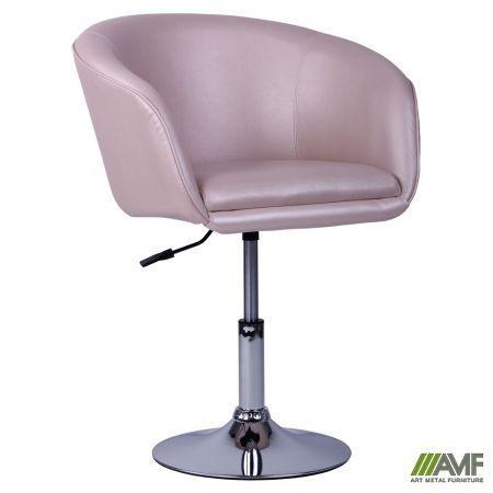 Барный стул Кресло Дамкар Хром Жемчуг 05 AMF