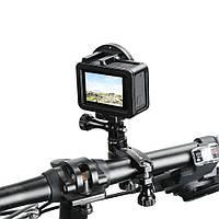 Крепление на велосипед PULUZ 360° для GoPro, фото 1