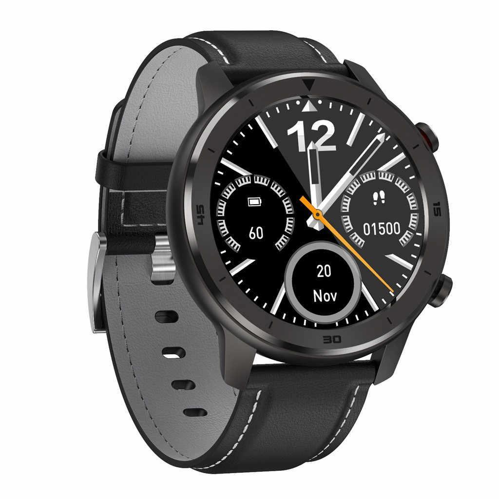 No. 1 DT78 умные смарт часы - Черный корпус, черный ремешок