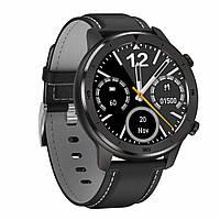 No. 1 DT78 умные смарт часы - Черный корпус, черный ремешок, фото 1
