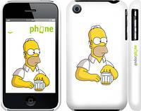 """Чехол на iPhone 3Gs Задумчивый Гомер. Симпсоны """"1234c-34"""""""