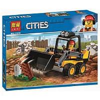 """Конструктор Bela 11219 (Аналог Lego City 60219) """"Строительный погрузчик""""94 деталей, фото 1"""