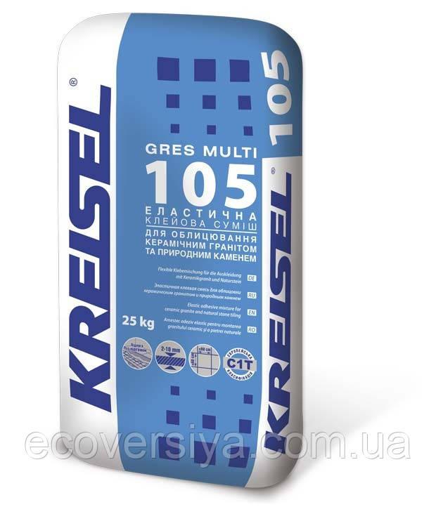 Клей для керамогранита GRES MULTI 105, Kreisel (Крайзель)