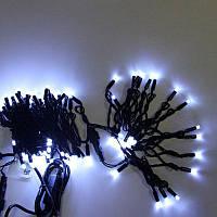 SALE!Гирлянда-нить Xmas LED 2.5 Line 100 W Уличная,черный провод,цвет свечения-холодный белый