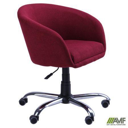 Барный стул Кресло Дамкар Хром Сидней-06 на роликах AMF