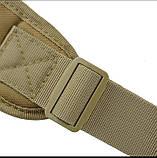 Рюкзак сумка на одно плечо 10 л армейский коричневый, фото 3