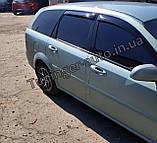 Ветровики, дефлекторы окон Chevrolet Lacetti Wagon/Лачетти Универсал 2004-2012 (ANV), фото 2