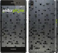 """Чехол на Huawei Ascend P7 Кубики """"1061c-49"""""""