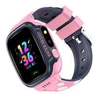 Дитячий smart годинник Y92 blu GPS