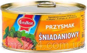 Паштет завтрак деликатесный Przysmak Sniadaniowy Evra Meat    Польша 300г