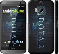 """Чехол на HTC One M8 dual sim Dota 2 v2 """"2838c-55"""""""