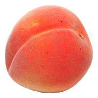 Персик искусственный, пластик 7 см х 8 см.
