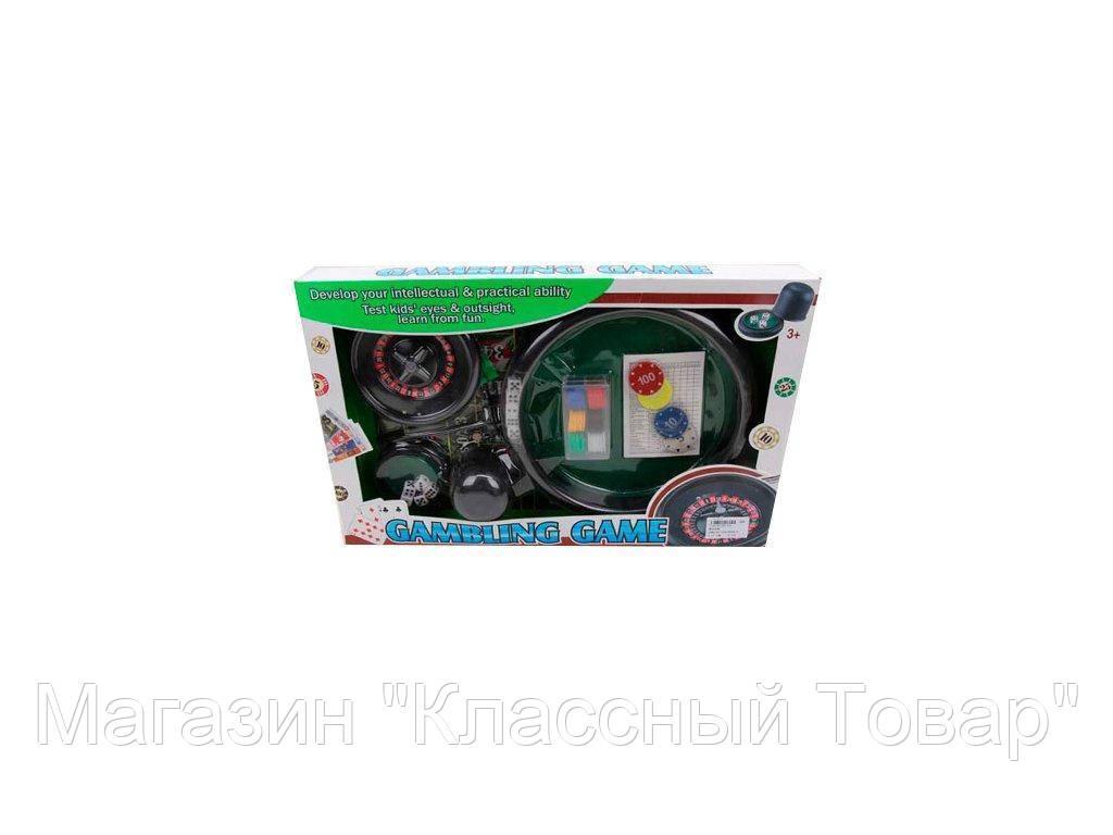 SALE!Настольная игра Покер-Рулетка. Gambling game 88130B