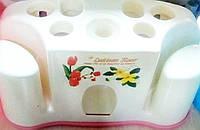 SALE! Автоматический дозатор для зубной пасты с держателем для щеток, фото 1