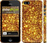 """Чехол на iPhone 5 Золото """"1687c-18"""""""