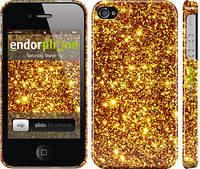 """Чехол на iPhone 4 Золото """"1687c-15"""""""