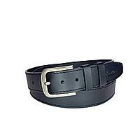 Ремень мужской Berdilier Кожаный Классический 40 мм Черный (01400010)