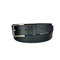 Ремень мужской Berdilier Кожаный Классический 40 мм Черный (01400020)