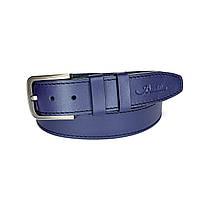 Ремень мужской Berdilier Кожаный Классический 40 мм Синий (01401010)