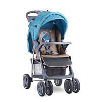 Детская коляска Lorelli Foxy blue&beige moon bear