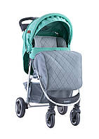 Детская коляска Lorelli Daisy green&grey