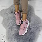 Демисезонные женские розовые ботинки, матовая эко-кожа 37 ПОСЛЕДНИЕ РАЗМЕРЫ, фото 6
