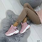 Демисезонные женские розовые ботинки, матовая эко-кожа 37 ПОСЛЕДНИЕ РАЗМЕРЫ, фото 7