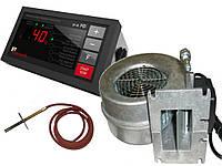 Комплект автоматики котла KG Elektronik SP-30 PID + вентилятор WPA X2, фото 1