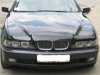 Мухобойка BMW 5 (e39) (1995-2003) (VT-52) Дефлектор капота накладка