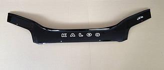 Дефлектор капота для Chevrolet Kalos (седан) (2003-2006) (VT-52)