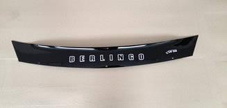 Мухобойка Citroen Berlingo (короткий) (2002>) (VT-52) Дефлектор капота
