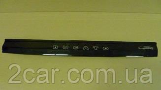 Мухобойка Fiat Ducato (Assembling Russia) (2012>) (VT-52) Дефлектор капота накладка