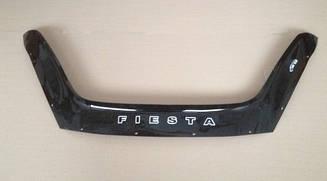 Мухобойка Ford Fiesta (2012>) (VT-52) Дефлектор капота накладка