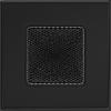 Вентиляционная решетка Kratki 11х11 см черная