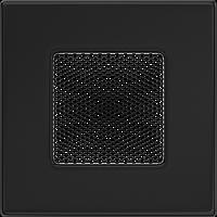 Вентиляционная решетка Kratki 11х11 см черная, фото 1