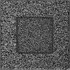 Вентиляционная решетка Kratki 11х11 см черное серебро без жалюзи